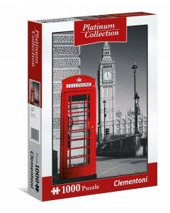Clementoni Puzzle Platinum Collection Londres 1000 Piezas