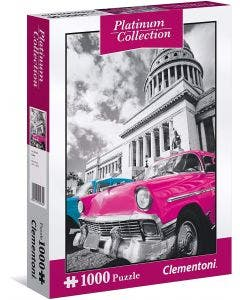 Clementoni Puzzle Platinum Collection Cuba 1000 Piezas