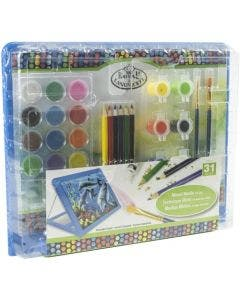 Royal & Langnickel Art Set Mix Media Easel RTN-170 Azul