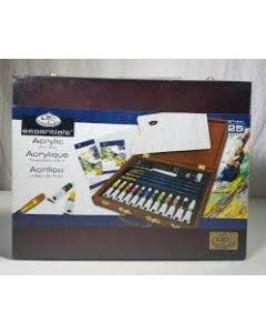 Royal & Langnickel Acrylic Painting Wooden Box Art Set