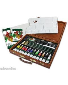 Royal & Langnickel Oil Painting Wood Box Art Set