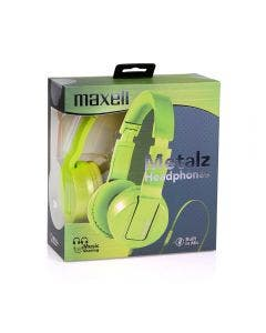 Auricular Maxell Solid 2 Metálico Verde