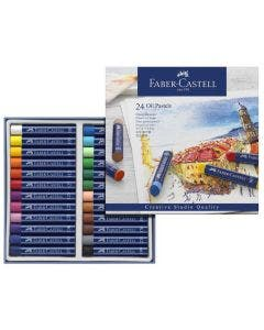 Pastel Oleado Faber Castell 24 Col