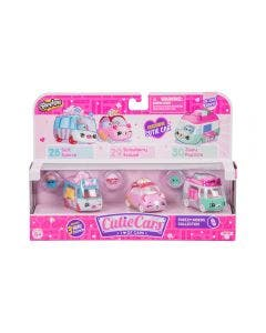 Shopkins Pack x 3 Cutie Cars Surtidos