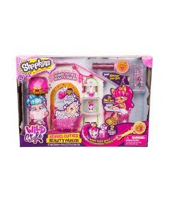Shopkins Wild Style Puppy Beauty Parlor Playset