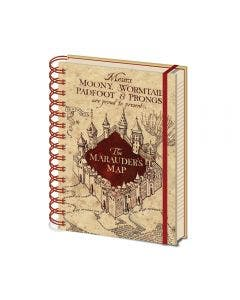 Harry Potter Libreta The Marauders Map