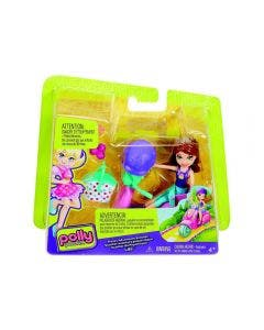 Polly Pocket Muñeca Aventura Scooter