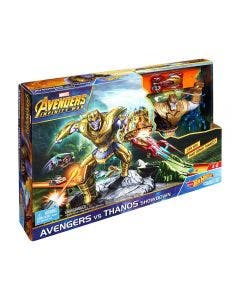 Hot Wheels Pista Avengers Vs Thanos