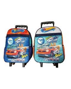 Mochila Hot Wheels con carro 40 cm