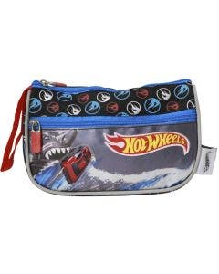 Cartuchera Hot wheels con 2 cierres de neopreno