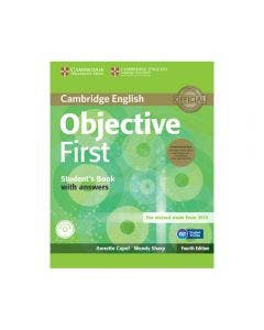 Objective First Student Book Pack With Key