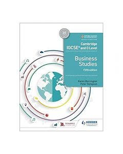 Cambridge IGCSE and 0 Level Business Studies