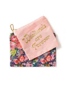 Bando Set de 2 Monederos Flower Shop