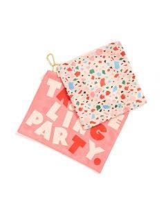 Bando Set De 2 Monederos Traveling Party Confetti