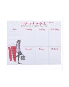 Planner de Escritorio Life Isn´t Perfect