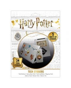 Set de 34 Stickers de Artefactos de Harry Potter