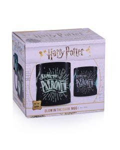 Harry Potter Mug Patronum Brilla en la Oscuridad