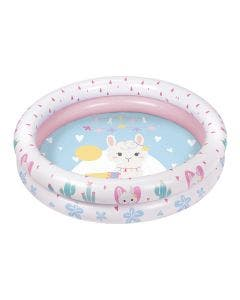 Piscina Inflable llamas 90 cm