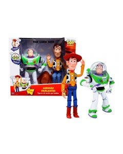 Toy Story 4 Figuras Buzz y Woody con 35 Frases