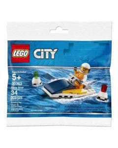 Lego City - Bote De Carrera