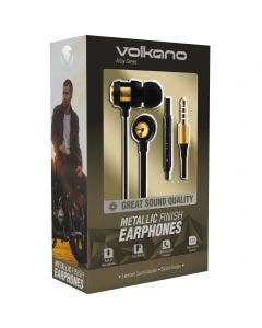 Auriculares In Ear Volkano Alloy Oro