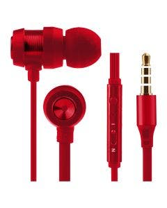 Auriculares In Ear Volkano Alloy Rojo