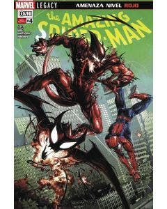The Amazing Spiderman N°4 Amenaza Nivel Rojo - Marvel Legacy