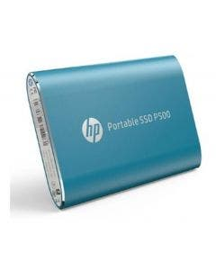 Disco Duro Externo Portable Ssd 250 Gb Hp P500 Azul