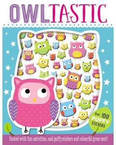 Puffy Stickers Owltastic - Make Believe Ideas