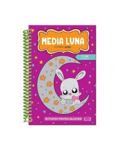 Agenda Media Luna Anillada 2020 Color