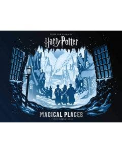 Harry Potter: Magic Places: A Pap Sc Bk