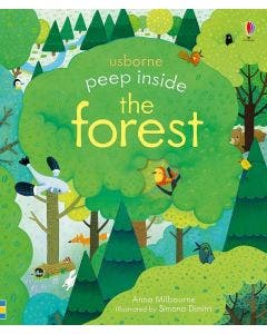 Peep Inside A Forest - Usborne