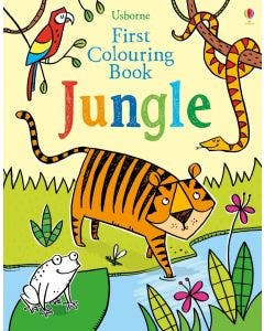 First Colouring Book Jungle - Usborne