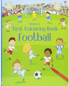 First Colouring Book Footbol - Usborne
