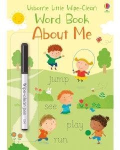 Little Wipe-Clean Words Book Abaut Me
