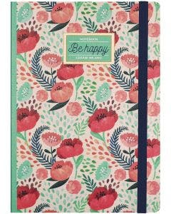 Cuaderno de fotos Flowers Be Happy