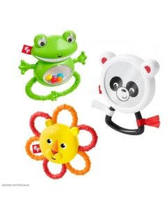 Fisher-Price Sonajeros Animales Selva GHK76