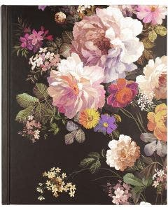 Libreta Midnight floral