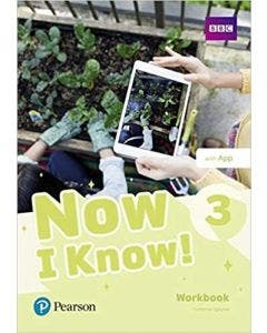 Now I Know 3 Workbook With App Pearson