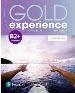 Gold Experience B2+ 2nd Edition Student's book With Online Practice Pearson