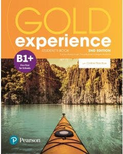 Gold Experience B1+ 2nd Edition Student's book Pearson