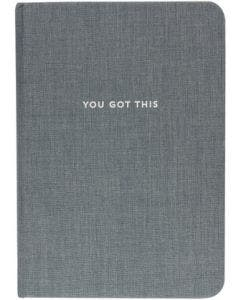 Libreta gris You got this