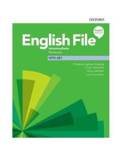English File Intermediate Workbook With Key 4th Edition