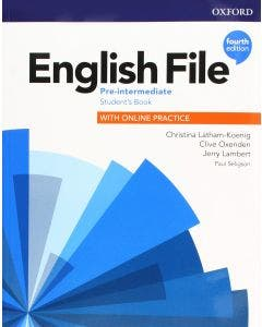 English File Pre Intermediate Student Book With Online Practice 4th Edition Oxford