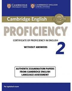 Cambridge English Proficiency 2° without answers