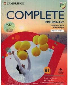 Complete preliminary students book with answers 2nd edition Cambridge