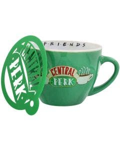 Taza Capuccino Friends Central Perk