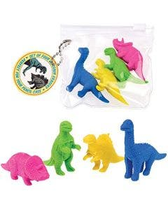 Rex London set 4 gomas Dino