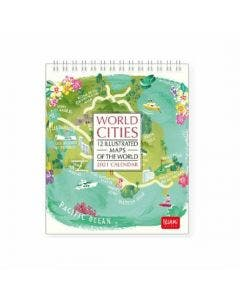 Calendario de escritorio World cities