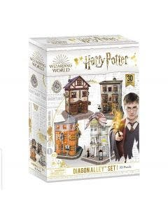 Puzzle 3D Harry Potter Callejón Diagon